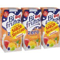Zumo bi-frutas pascual tropical sin/azucar 3x330ml.