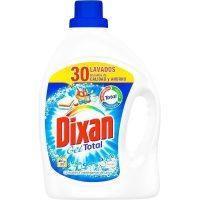 Detergente dixan gel 30 dosis.