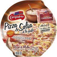 Pizza campofrio carbonara 360gr.