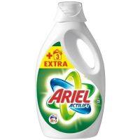 Detergente liquido regular ariel 28+3 lavado.