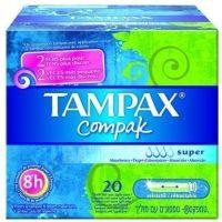 Tampones compak regular tampax 20 uni.