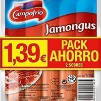 Salchichas jamongus campofrio 2x170gr.