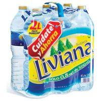 Agua fuente liviana 2lt.