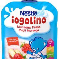 Iogolino lacteo manzana fresa nestle 90gr.
