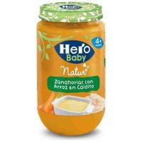 Hero baby zanahoria-arroz 235 gr.