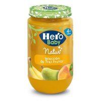 Hero baby tres frutas 235 gr.