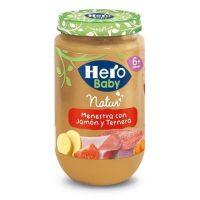 Hero baby jamon-ternera-verduras 235 gr.