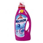 Detergente micolor gel frescor 23 dosis.