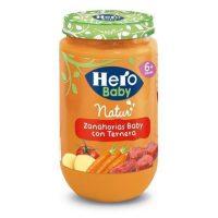 Hero baby ternera-zanahoria 235 gr.