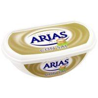 Mantequilla con sal arias 235gr.