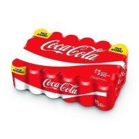 Coca-cola 33cl lata en paquete 24 uni.