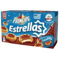 Galletas principe estrellas cho-negro 150gr.