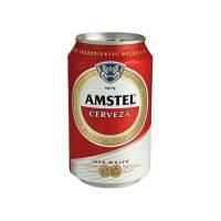 Paquete lata cerveza amstel 33cl 24 uni.