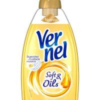 Suavizante vernel soft&oil dorado 1,5l.