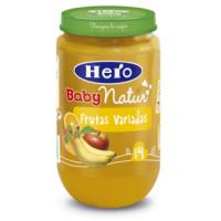 Hero baby frutas variadas 235 gr.