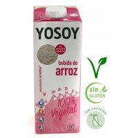 Bebida de arroz yosoy 6x1L.