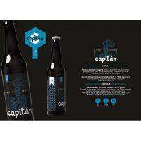Capitan I.P.A cerveza artesana. Pack de 6 uni.