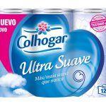 Papel Higienico Ultra Suave Colhogar 12 Rollos