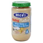 Hero baby merluza-arroz 235 gr.