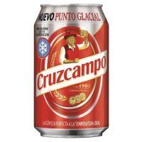 Paquete lata cruzcampo 33 cl 24 uni.
