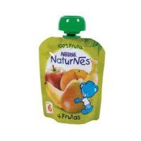 Naturnes pouches 4 frutas nestle 90gr.