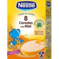 Papilla 8 cereales con bifidus nestle 600gr.