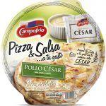 Pizza campofrio pollo salsa cesar 350gr.
