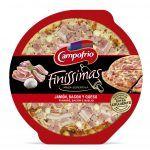 Pizza campofrio jamon/beicon finisima 335gr.