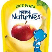 Naturnes pouches platano/manzana nestle 90gr.