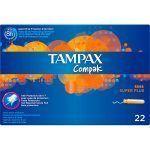 Tampones compak superplus tampax 22 uni.