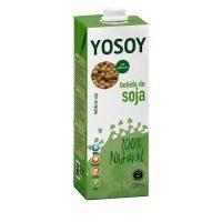 Bebida de soja yosoy 6x1L.